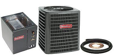 New Goodman 5 Ton 13 Seer Central Air AC Add On GSX130601 +