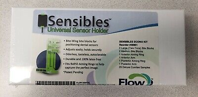 Flow Dental Sensibles Universal Sensor Holder Econo Starter Kit Mfg 40901