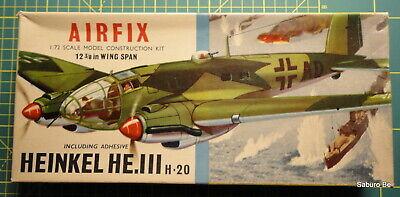 RARE AIRFIX 1/72  HEINKEL HE 111 H -20   Type 2  no 484