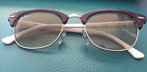 Violet and White Clubmaster RayBan Sunglasses Franklin Gungahlin Area Preview