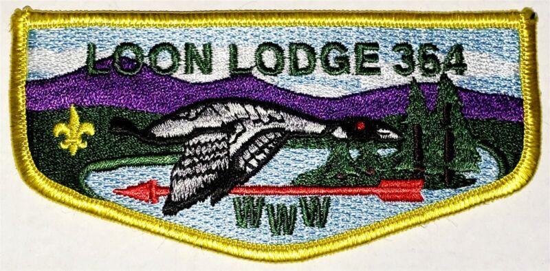 Lodge 364 Loon S13a Pocket Flap  OA  BSA