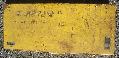 Black Hawk Hydraulic Knock Out Punches Made In Usa Original Box Carrier Old