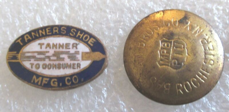 Antique Tanner Shoe Manufacturing Company - Service / Advertising Lapel Pin