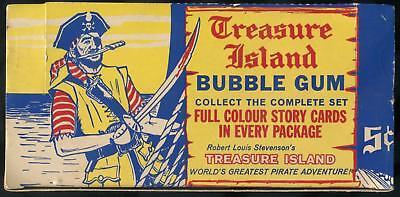 1964 Parkhurst Treasure Island 5-Cent Display Box