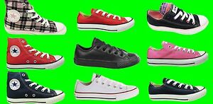 ALL-STAR-CONVERSE-Trainers-Kids-Boys-Girls-New-Hi-Lo-Shoes-Childrens-Size-UK-2-2
