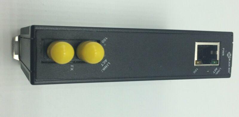 BLACK BOX TRANSCEIVER/MEDIA CONVERTER P/N LMC270A-MM-ST, 2 PORTS