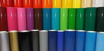 6 Rolls Genuine ORACLE 651 Vinyl Sheet 12 x 24 Outdoor Adhesive CHOOSE COLORS