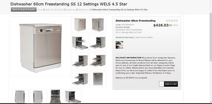 Brand New Freestanding Dishwasher (still in box) $295