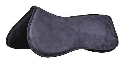 Weatherbeeta Memory Foam Anti-Slip Comfort Saddle Half Pad Quick -