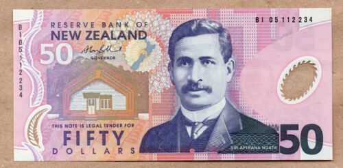 NEW ZEALAND - 50 DOLLARS - ND2005 - P188b - UNCIRCULATED