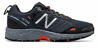 New Balance Male Men's 573 Trail Mens Running Shoes Training Grey With White