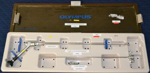 Olympus A2406 Semi Rigid 0 Degree Ureteroscope with Sheath A2420