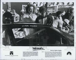 1990 Press Photo Nichole Kidman and Tom Cruise in Days of Thunder