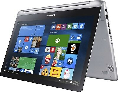 "New 15.6"" Samsung Spin 2-in-1 Touchscreen Laptop, Intel i7-6500U,12G,1TB,GeForce"