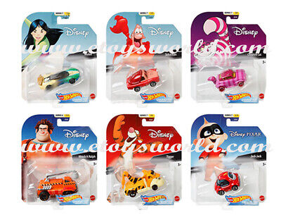 Hot Wheels 1:64 Disney Cartoon Character Cars 2020 H Assortment GCK28-999H