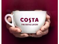 Full-Time Supervisore & Part-Time team members at Costa coffee, CAMBRIDGE