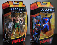 lot 4 figurines DC unlimited 6po neuves