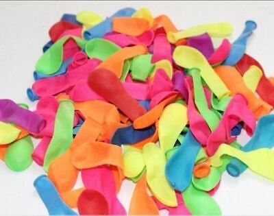 120pcs+120rubber +2 tool small balloons Water polo round multicolor latex - Water Baloons