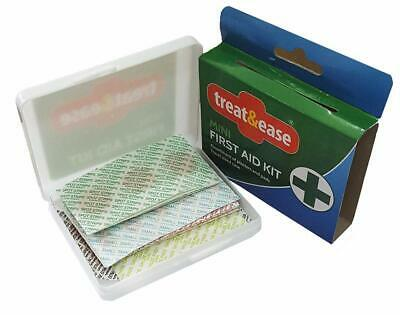 Mini Essentials Kit (MINI FIRST AID KIT 42PC TRAVEL HEALTHCARE CUT GRAZE PLASTER HOME CAR ESSENTIALS)