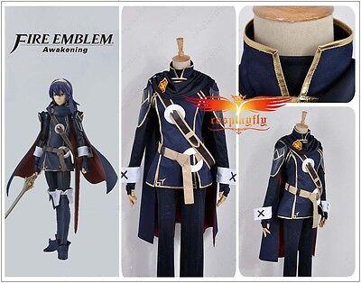 Hot Game Fire Emblem Awakening Lucina Uniform Cosplay Costume Custom Halloween