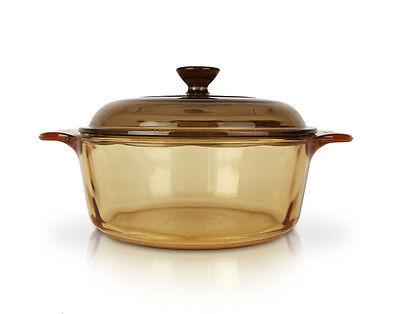 Visions 0.8L Pot Kitchen Cookware Saucepan Glass Cooking Pasta Pot