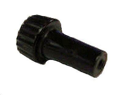 Dark brown Phenolic turn-knob switch    TV-681