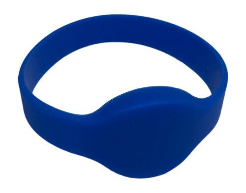 10 RFID Proximity Wristbands 26 Bit Wiegand H10301 Prox Keyless 125 kHz--Blue