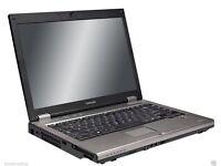 CHEAP FAST Toshiba Laptop - Dual Core Wireless DVD Open Office Warranty