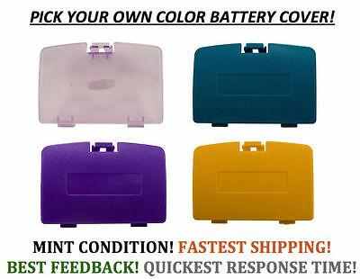 (New Battery Cover for Game Boy Color System GBC Replacement Door Pick A Color!)