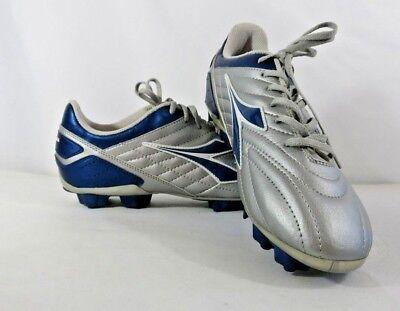e7402d5cf1c Men s Diadora Soccer Cleats Size 10 Sliver   Blue NWOB