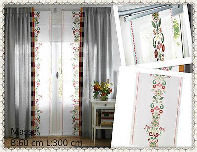 Curtains Ideas 300 cm length curtains : IKEA AKERKULLA Panel curtains, multicolour, Width: 60 cm x length ...