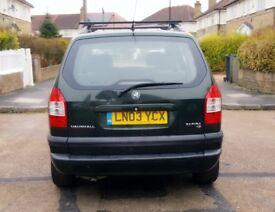 Vauxhall Zafira £550