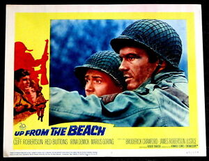WAR MOVIE POSTERS: Up From the Beach 1965 Cliff Robertson