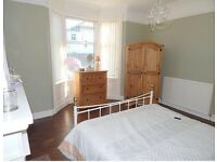 Lovely wardrobe, chest of drawers, side table.