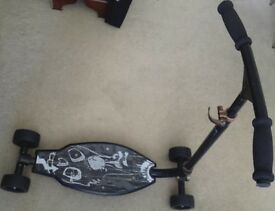 Decathlon Adult / Teenager Oxelo 4-wheels Scooter