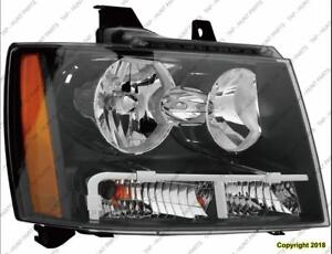 Head Lamp Passenger Side High Quality Chevrolet Avalanche 2007-2013