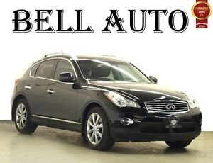 2012 Infiniti EX35 LUXURY PKG LEATHER SUNROOF BACKUP CAMERA