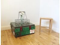 Vintage Military Storage Chest / Coffee Table