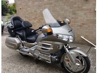 Honda Goldwing 1800, with tasteful extras