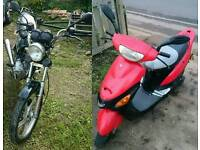 Swap to 125cc