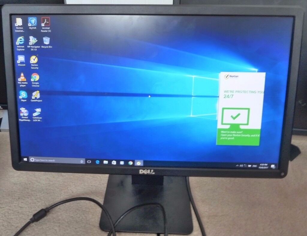 """SOLD: Dell E2214Hb (22"""" TFT LCD Monitor) in good working condition."""