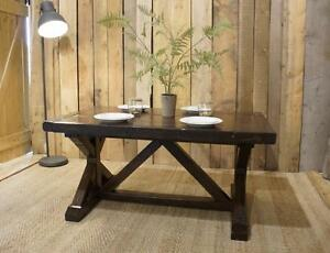 Salvaged Solid Wood Dining Table $1995. By LIKEN Woodworks