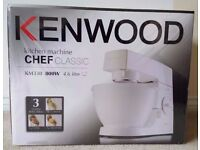 Kenwood KM330 Stand Mixer, 4.6 L, 800 W - White Brand New Sealed Box £100