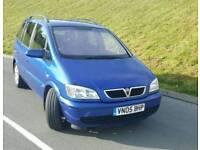 Vauxhall zafira 2.0 dti 2005 7 seater
