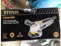 Titan angle grinder