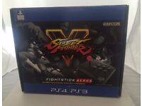 Mad Catz Street Fighter 5 Arcade FightStick Alpha PS4/PS3 New & Sealed UK