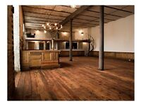 Stunning Victorian Industrial Venue hire for Weddings, Private and Corporate Events