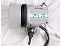 Elinchrom Chic S2 Flash Head Strobes 2400w/s Power as new