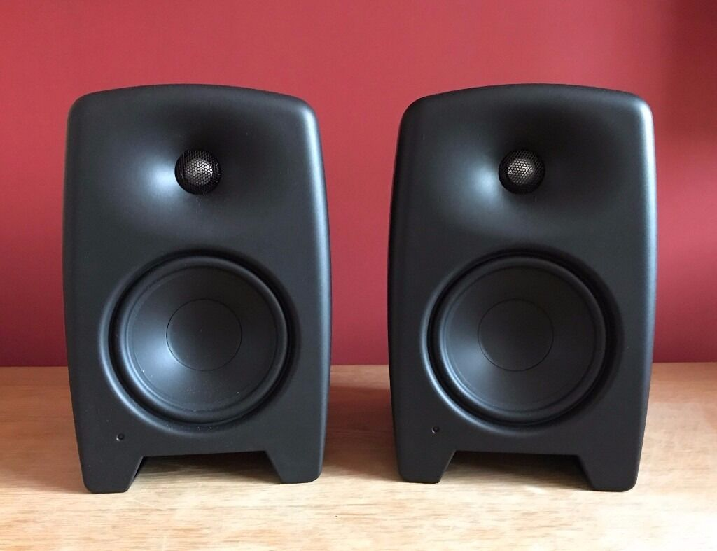 Genelec M030 active studio monitors