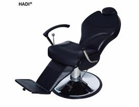 NEW BLACK HADI® BARBER CHAIR BC-26,CASH ON COLLECTION ONLY new uk